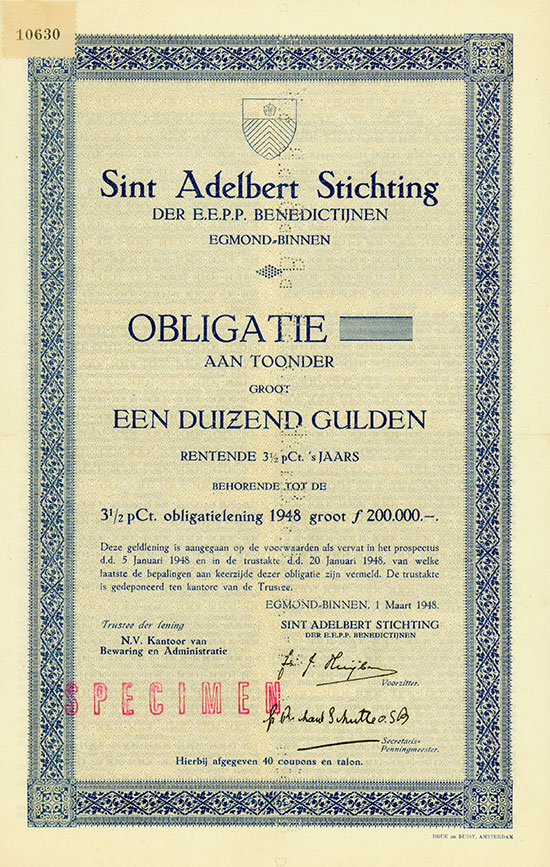 Sint Adelbert Stichting der E.E.P.P. Benedictijnen Egmond-Binnen