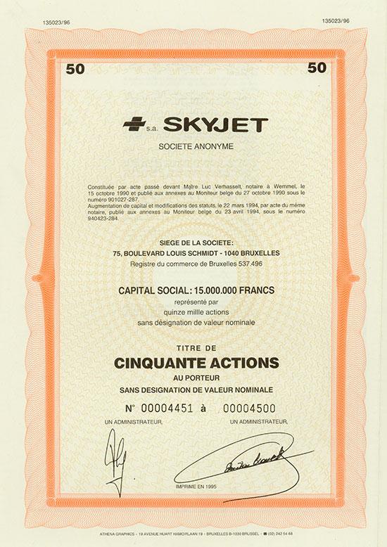 Skyjet Société Anonyme