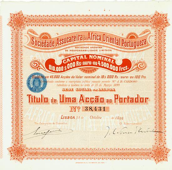Sociedad Assucareira da Africa Oriental Portugueza