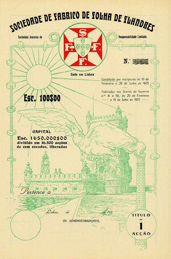 Sociedade de Fabrico de Folha de Flandres