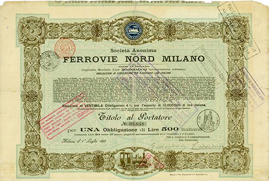 Società Anonima delle Ferrovie Nord Milano