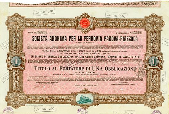 Società Anonima per la Ferrovia Padova-Piazzola