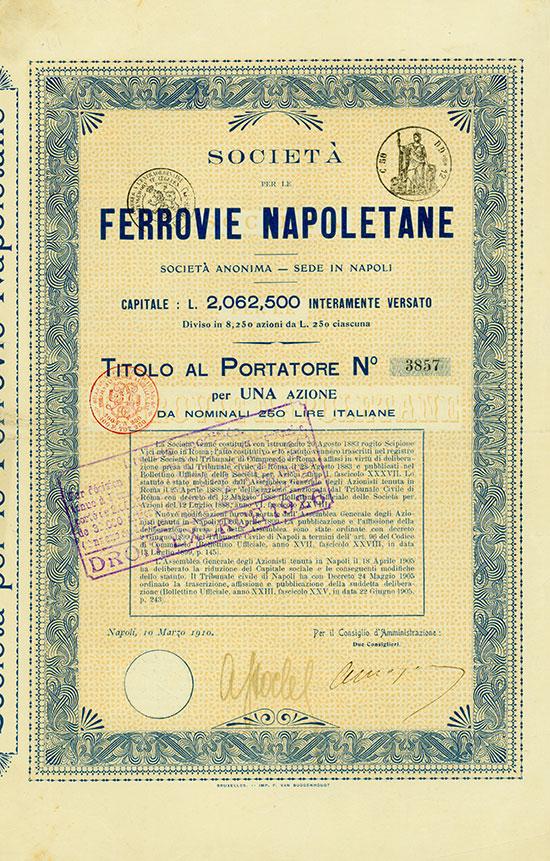 Società per le Ferrovie Napoletane Società Anonima
