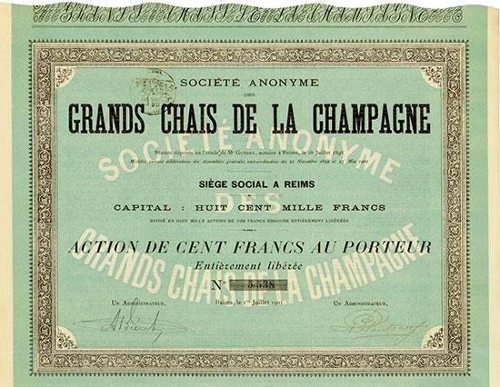 Société Anonyme des Grands Chais de la Champagne