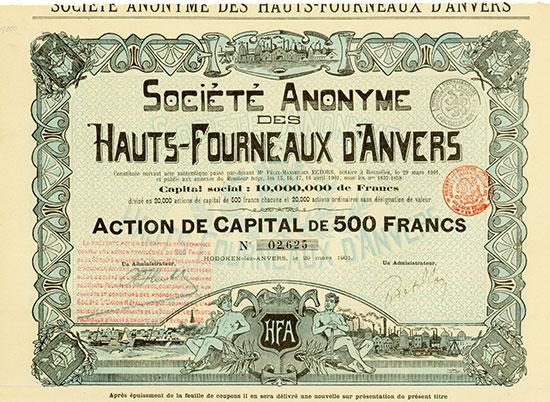 Société Anonyme des Hauts-Fourneaux d'Anvers