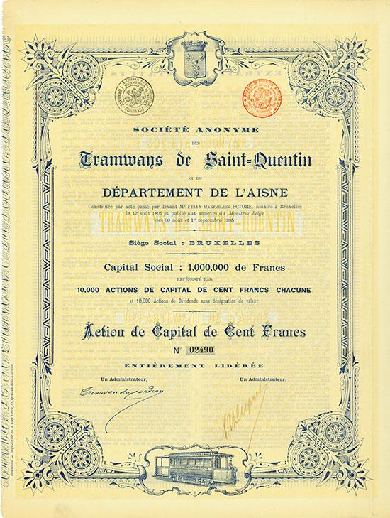 Société Anonyme des Tramways de Saint-Quentin et du Département de l'Aisne