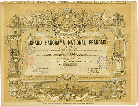 Société Anonyme du Grand Panorama National Francais (a Paris)