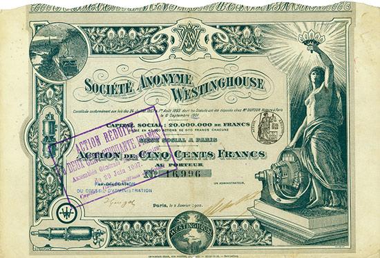 Société Anonyme Westinghouse