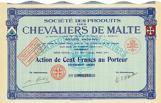 Société des Produits des Chevaliers de Malte