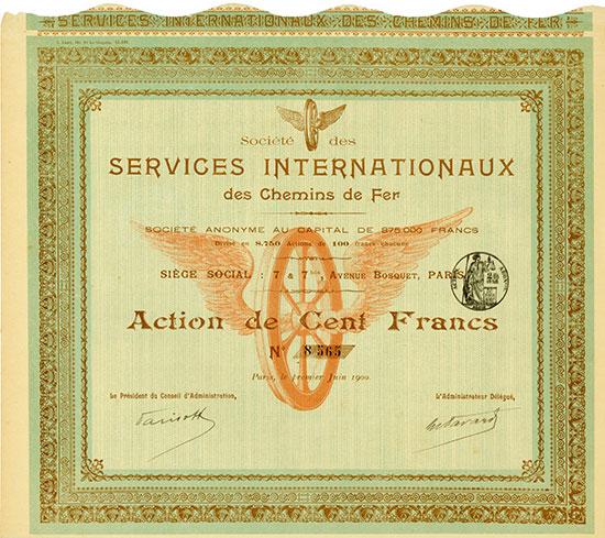 Société des Services Internationaux des Chemins de Fer