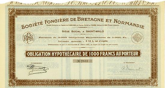 Société Foncière de Bretagne et Normandie
