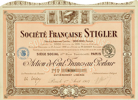 Société Française Stigler
