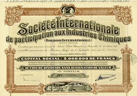 Société Internationale de Participation aux Industries Chimiques