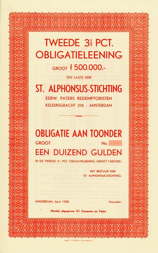 St. Alphonsus-Stichting Eerw. Paters Redemptoristen [3 Stück]