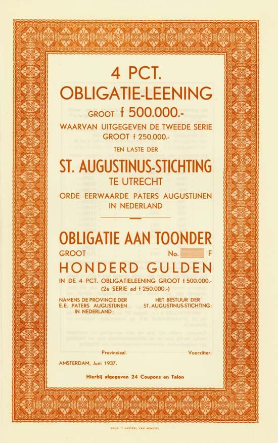St. Augustinus-Stichting te Utrecht [4 Stück]