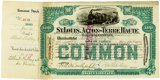 St. Louis, Alton and Terre Haute Railroad Company