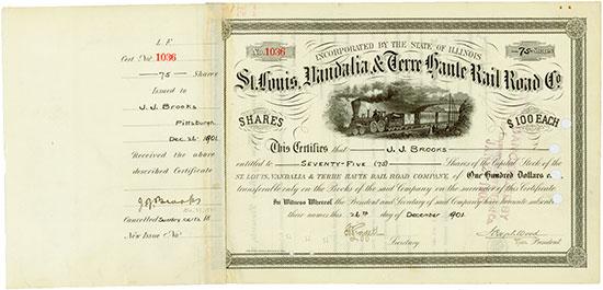 St. Louis, Vandalia & Terre Haute Rail Road Company