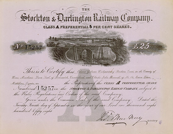 Stockton & Darlington Railway Company