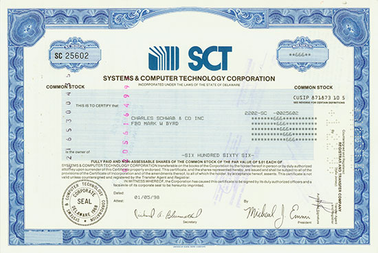 Systems & Computer Technology Corporation
