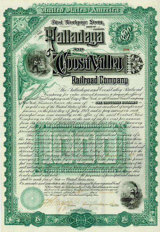 Talladega & Coosa Valley Railroad Company