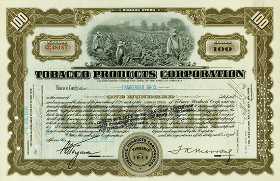 Tobacco Products Corporation