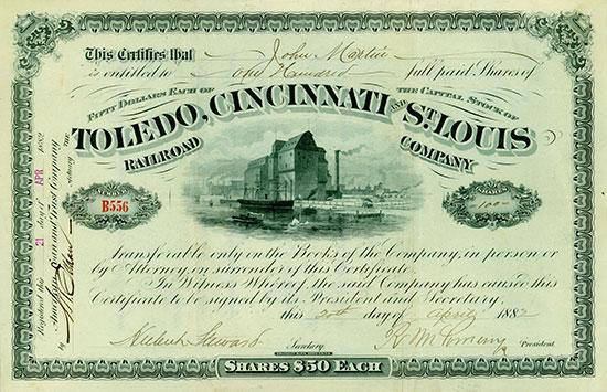 Toledo, Cincinnati and St. Louis Railroad Company
