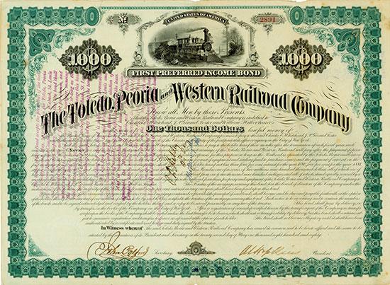 Toledo, Peoria and Western Railway Company