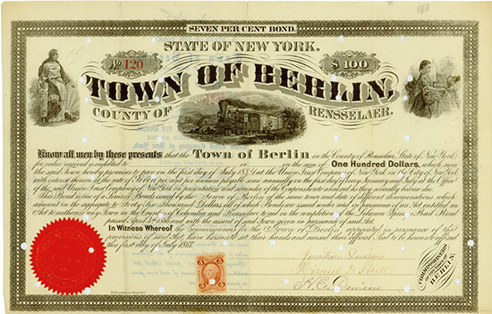 Town of Berlin - Lebanon Springs Rail Road