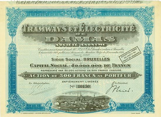 Tramways et Électricité de Damas