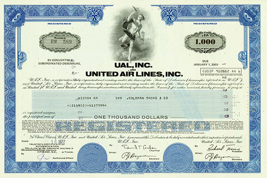 UAL, Inc. And United Air Lines, Inc.