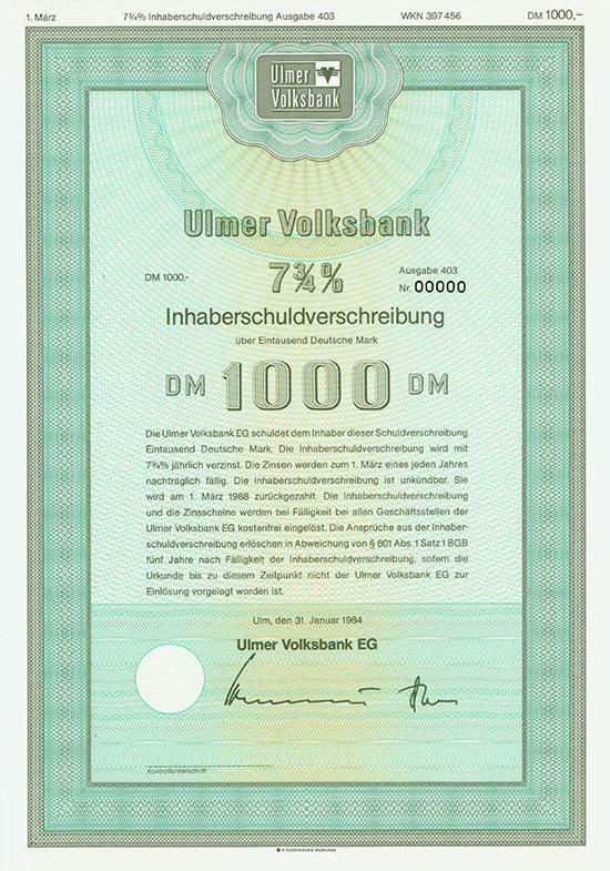 Ulmer Volksbank EG