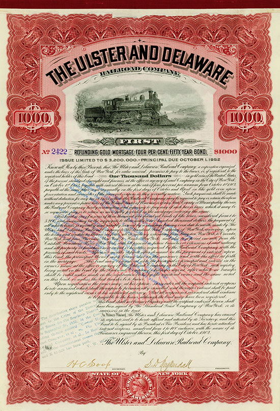 Ulster and Delaware Railroad Company