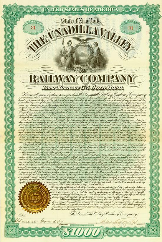 Unadilla Valley Railway Company