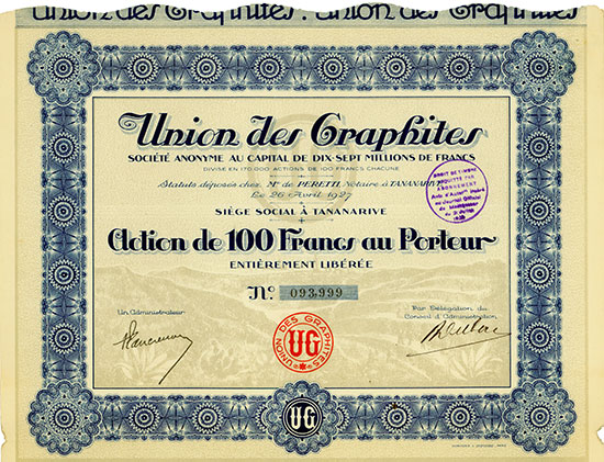 Union des Graphites