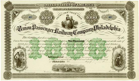 Union Passenger Railway Company of Philadelphia