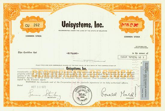 Unisystems, Inc.