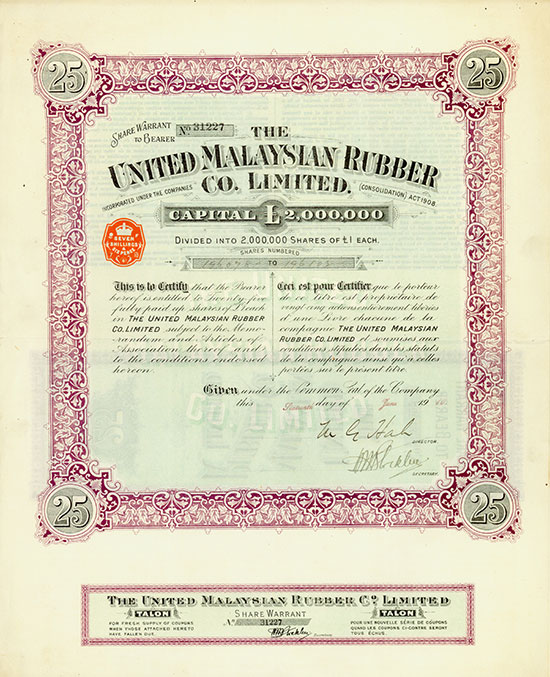 United Malaysian Rubber Co. Limited