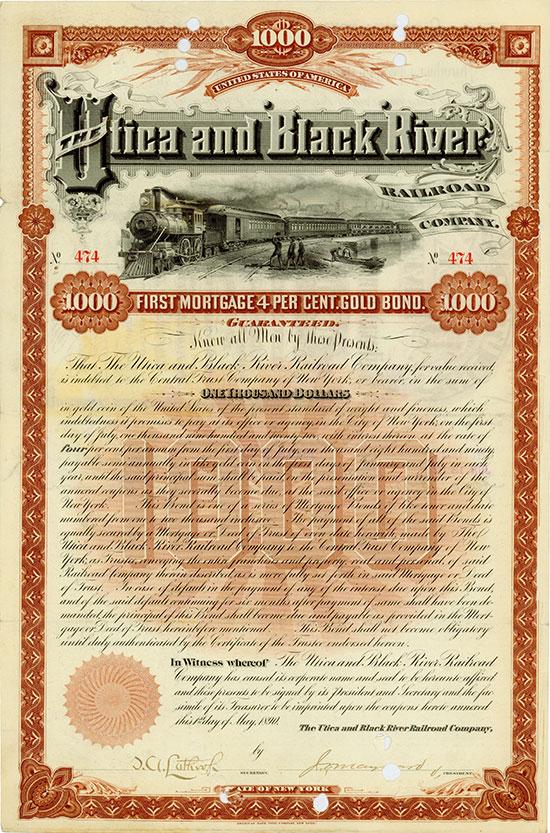 Utica & Black River Railroad Company