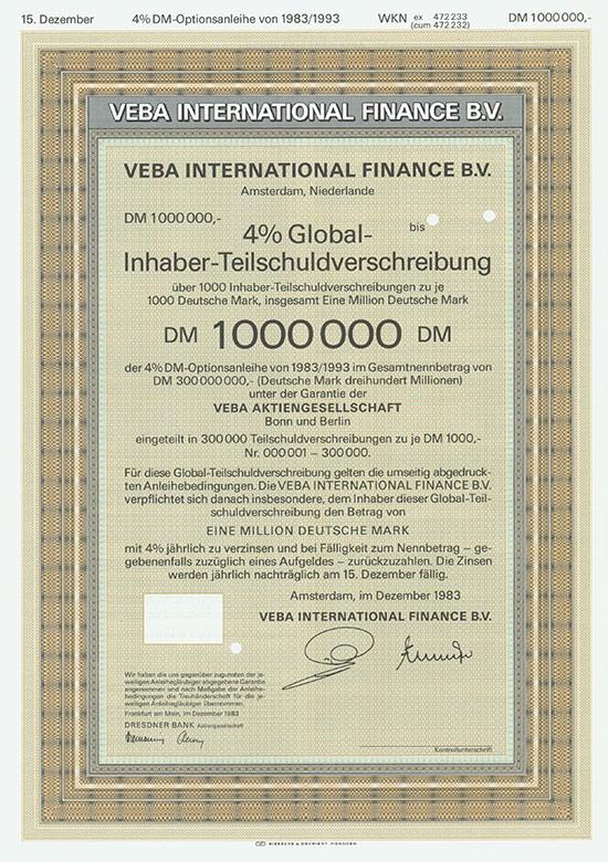 VEBA International Finance B. V.