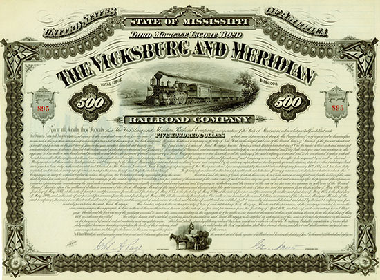 Vicksburg and Meridian Railroad Company