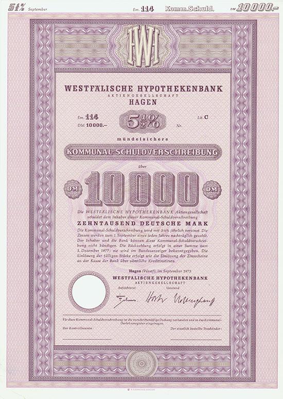 Westfälische Hypothekenbank AG