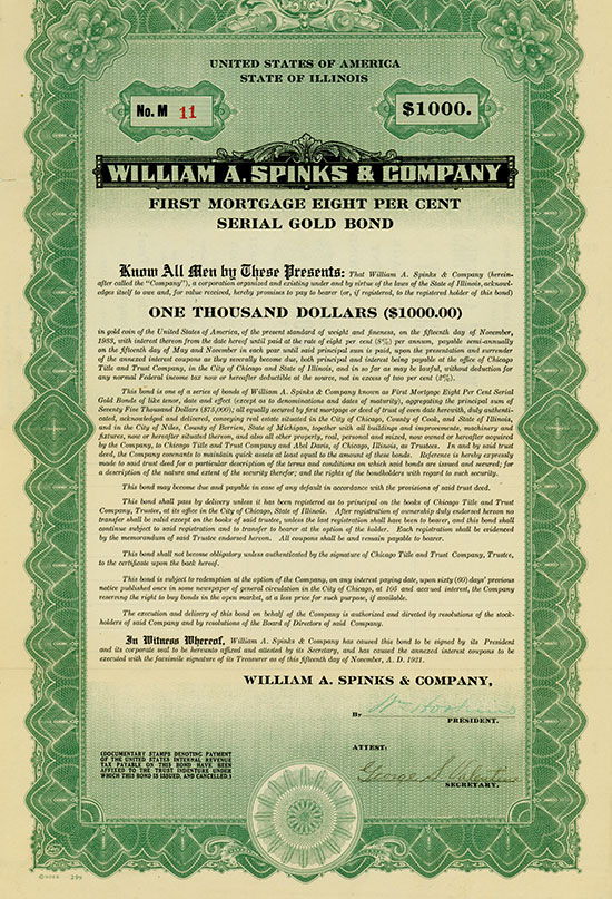 William A. Spinks & Company