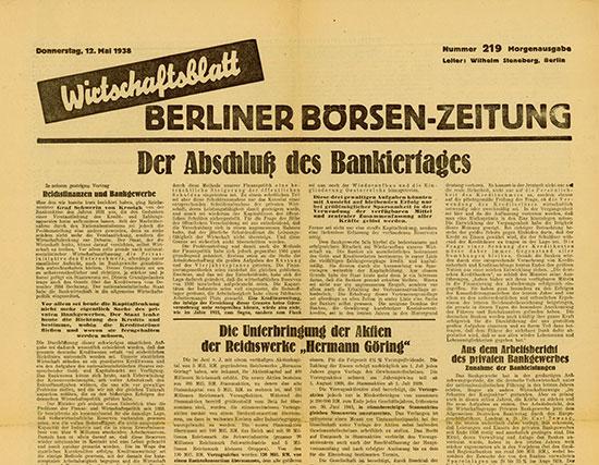 Wirtschaftsblatt - Berliner Börsen-Zeitung