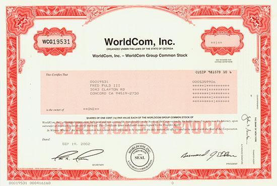 WorldCom, Inc.