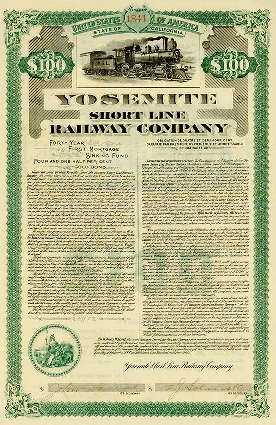 Yosemite Short Line Railway Company